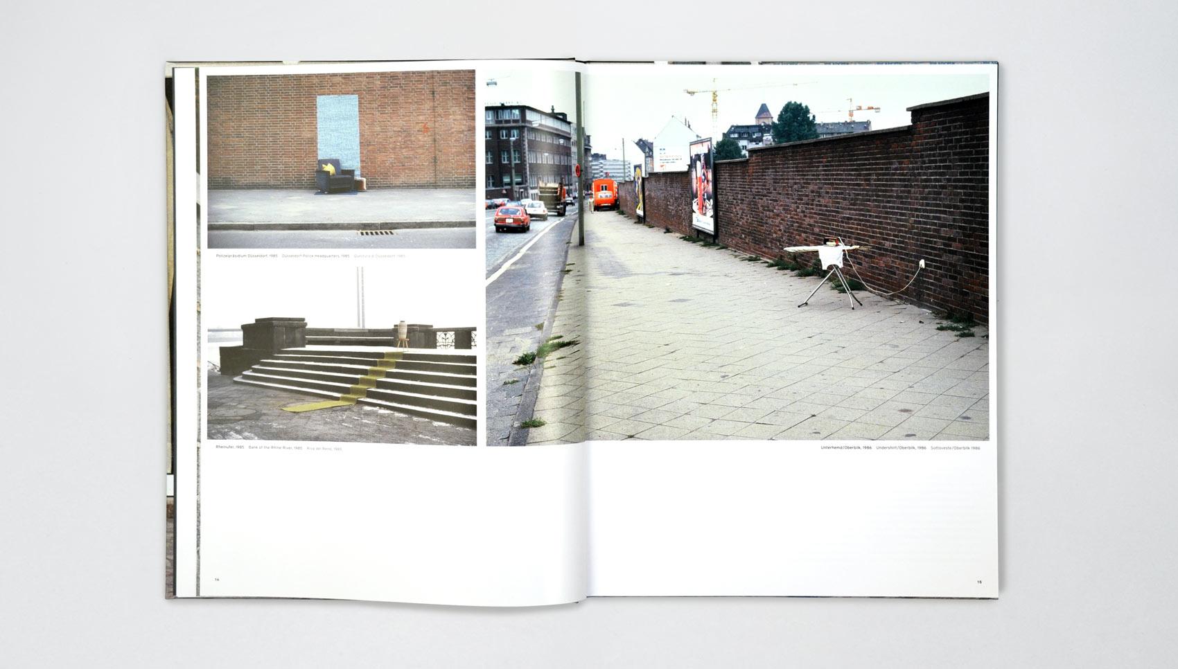 """Maik und Dirk Löbbert – """"innenaußen"""" Kunstkatalog Gestaltung"""