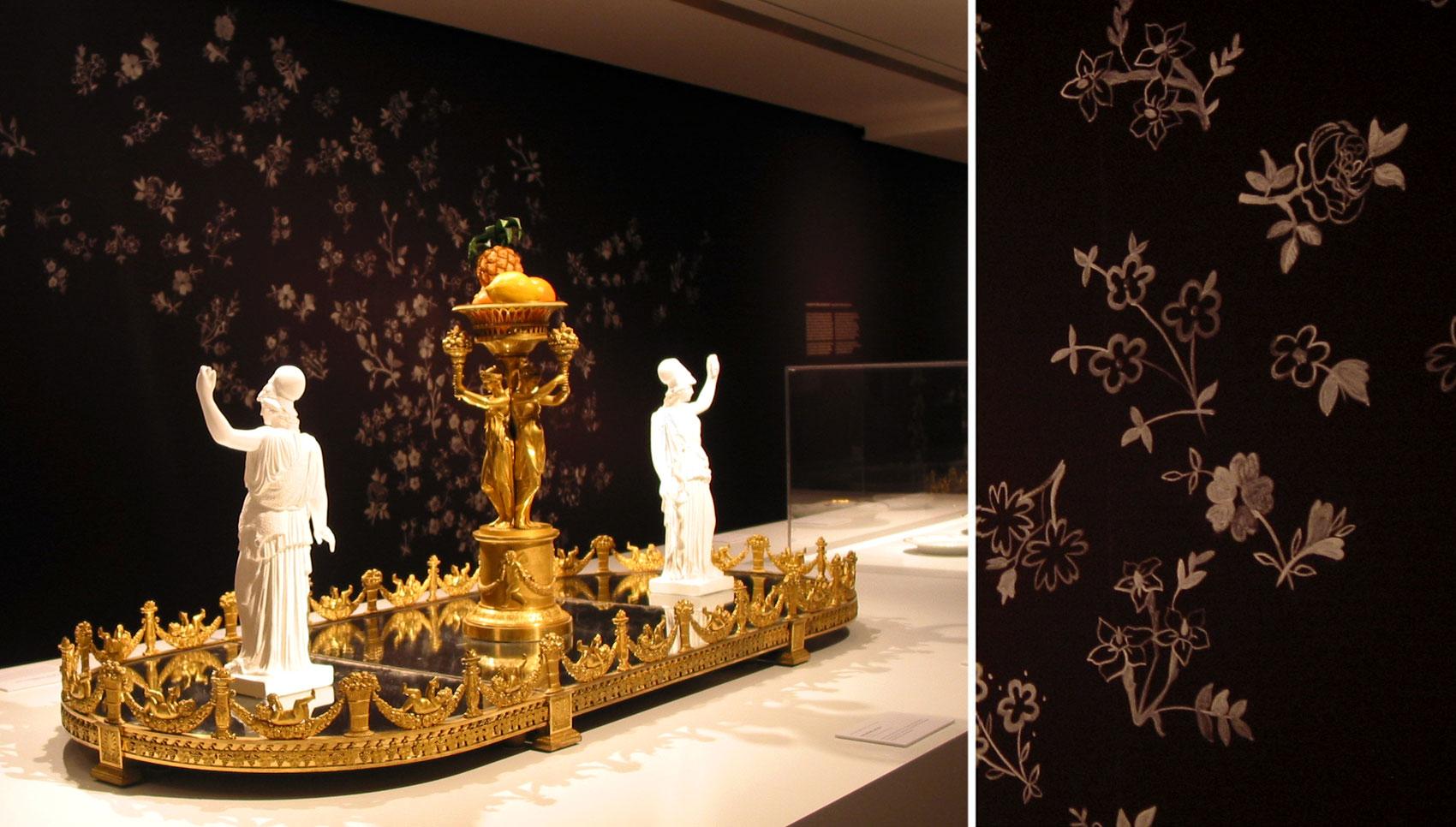 Weißes Gold Sonderausstellung Schloss Wilhelmshöhe in Kassel