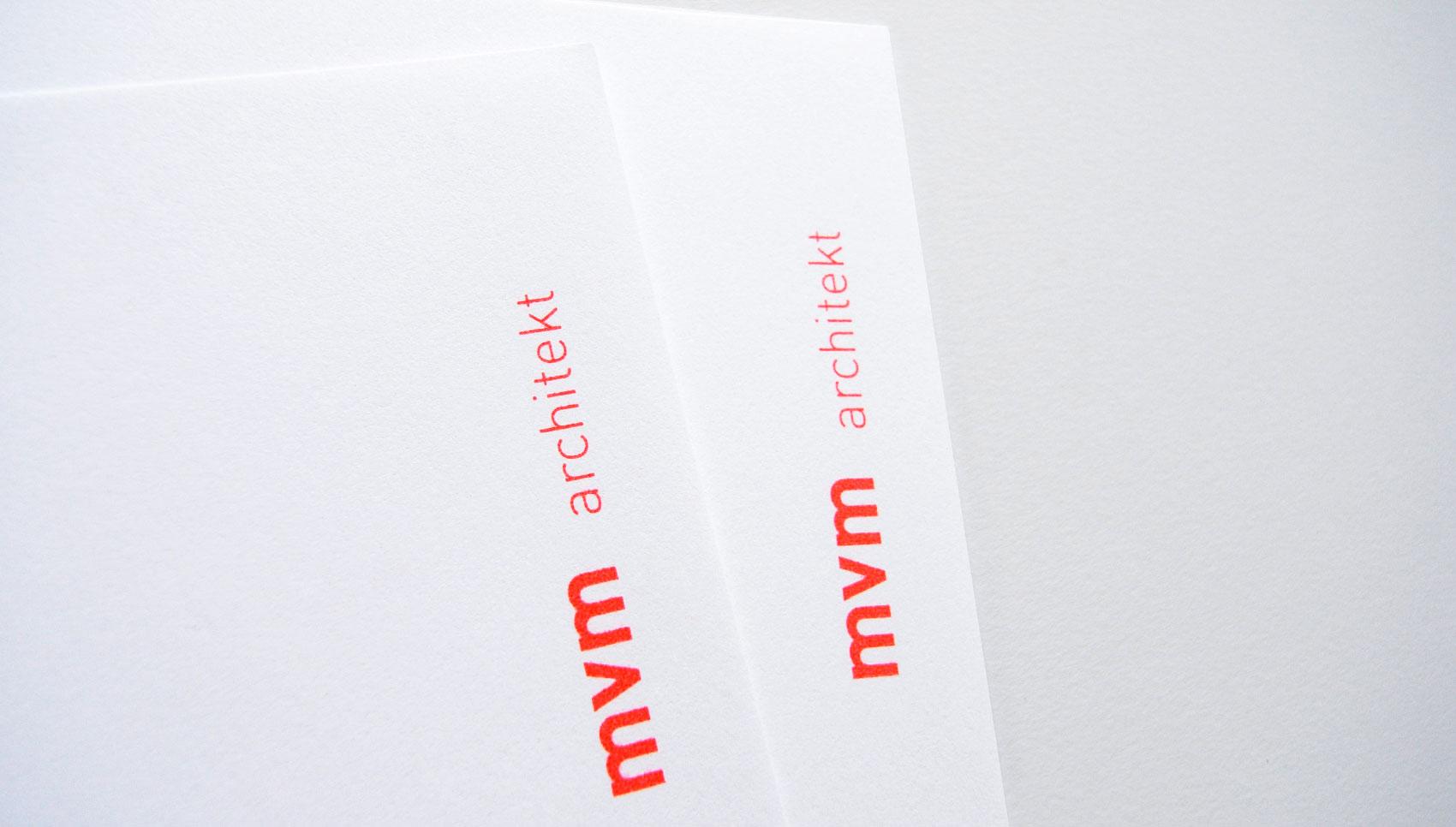 mvm Architekt Michael Viktor Müller Corporate Design