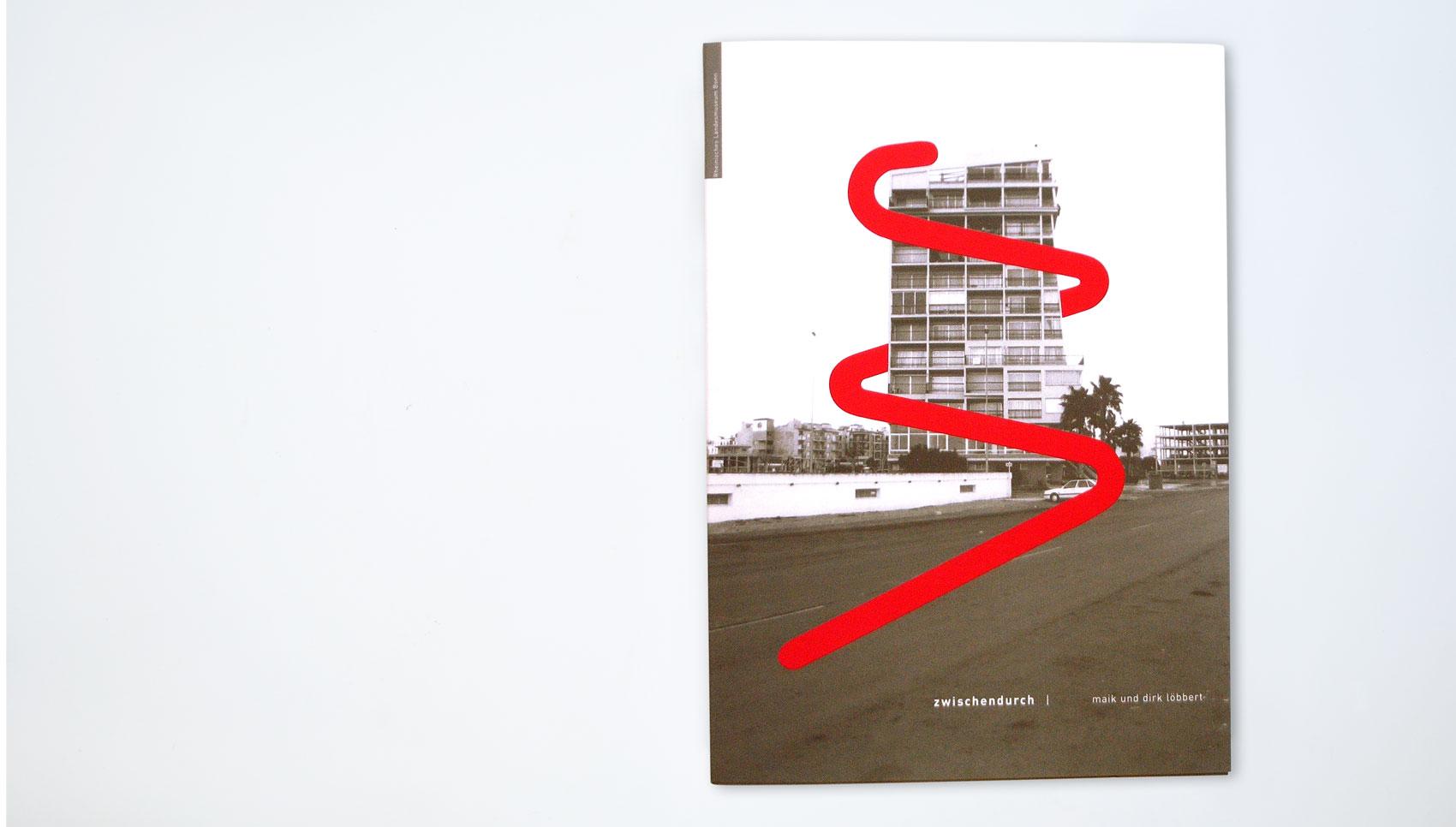 """Maik und Dirk Löbbert – """"zwischendurch"""" Kataloggestaltung"""