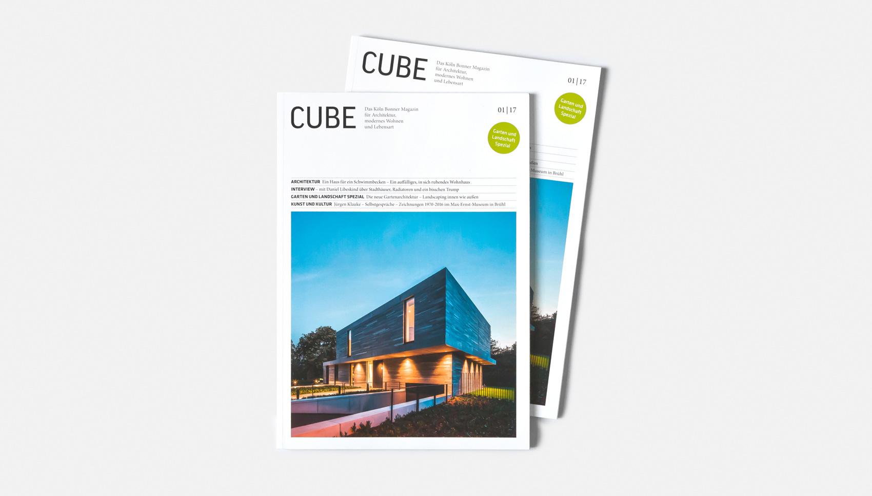 Der Rhein im Cube Magazin 01/17 — res d – design und architektur