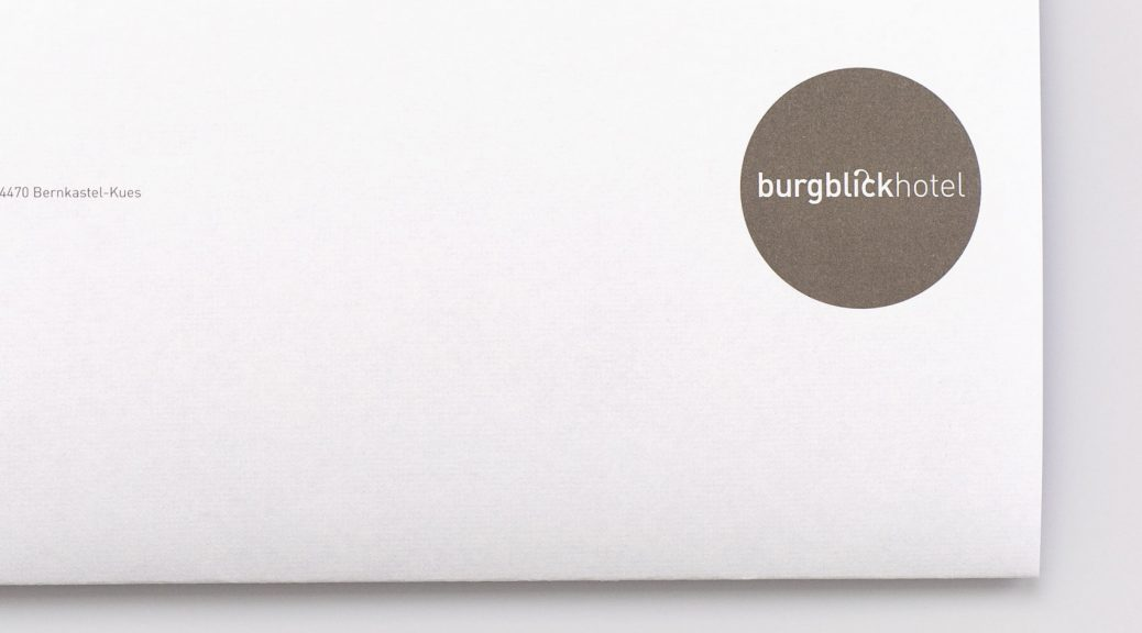 Burgblickhotel Bernkastel-Kues. Corporate Design und Internetseite
