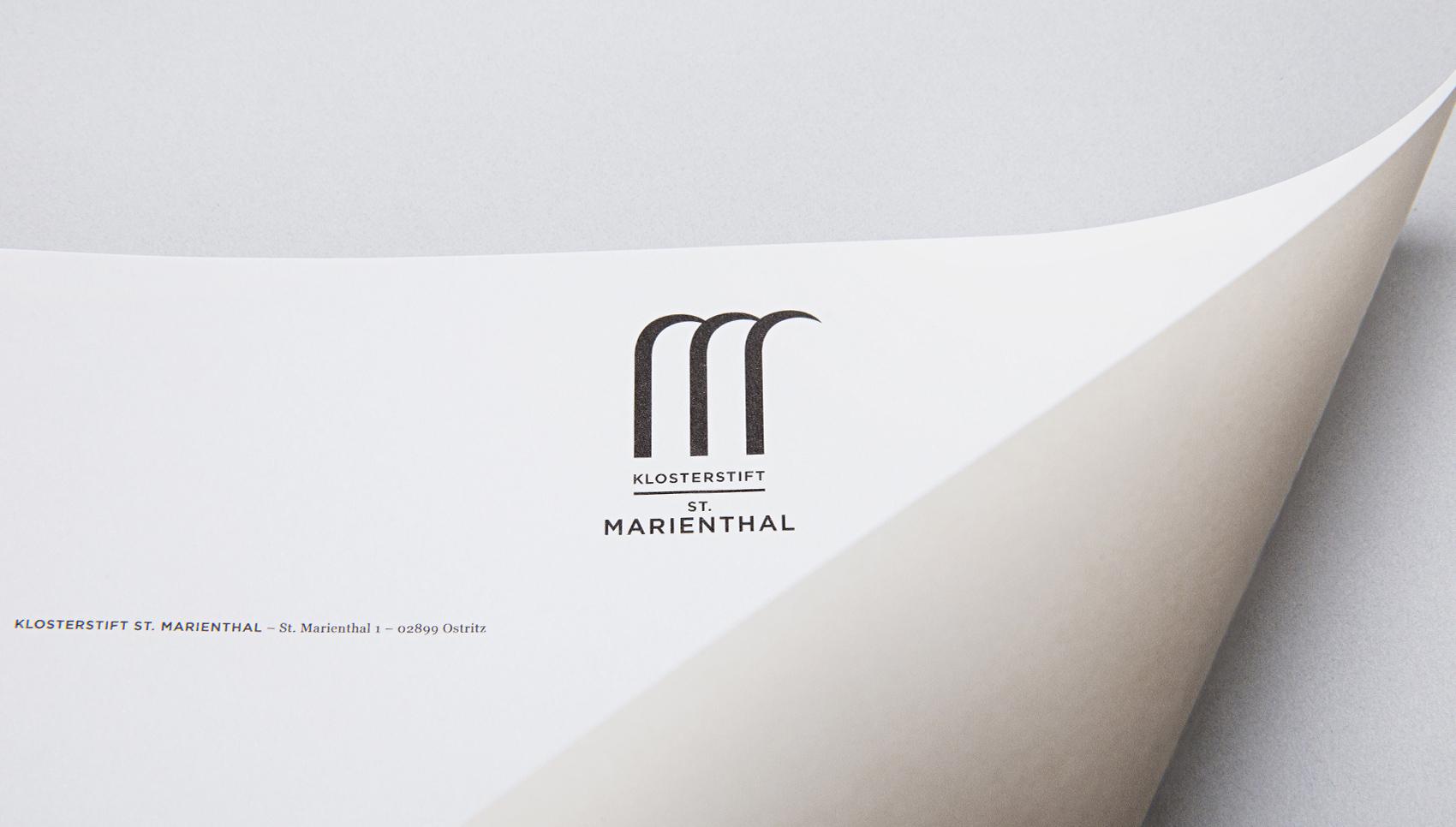 klosterstift st. marienthal erscheinungsbild corporate design