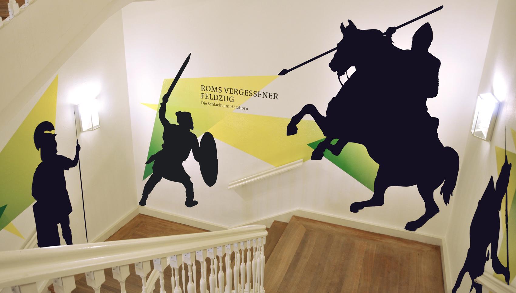 Roms vergessener Feldzug. Ausstellungsgestaltung.