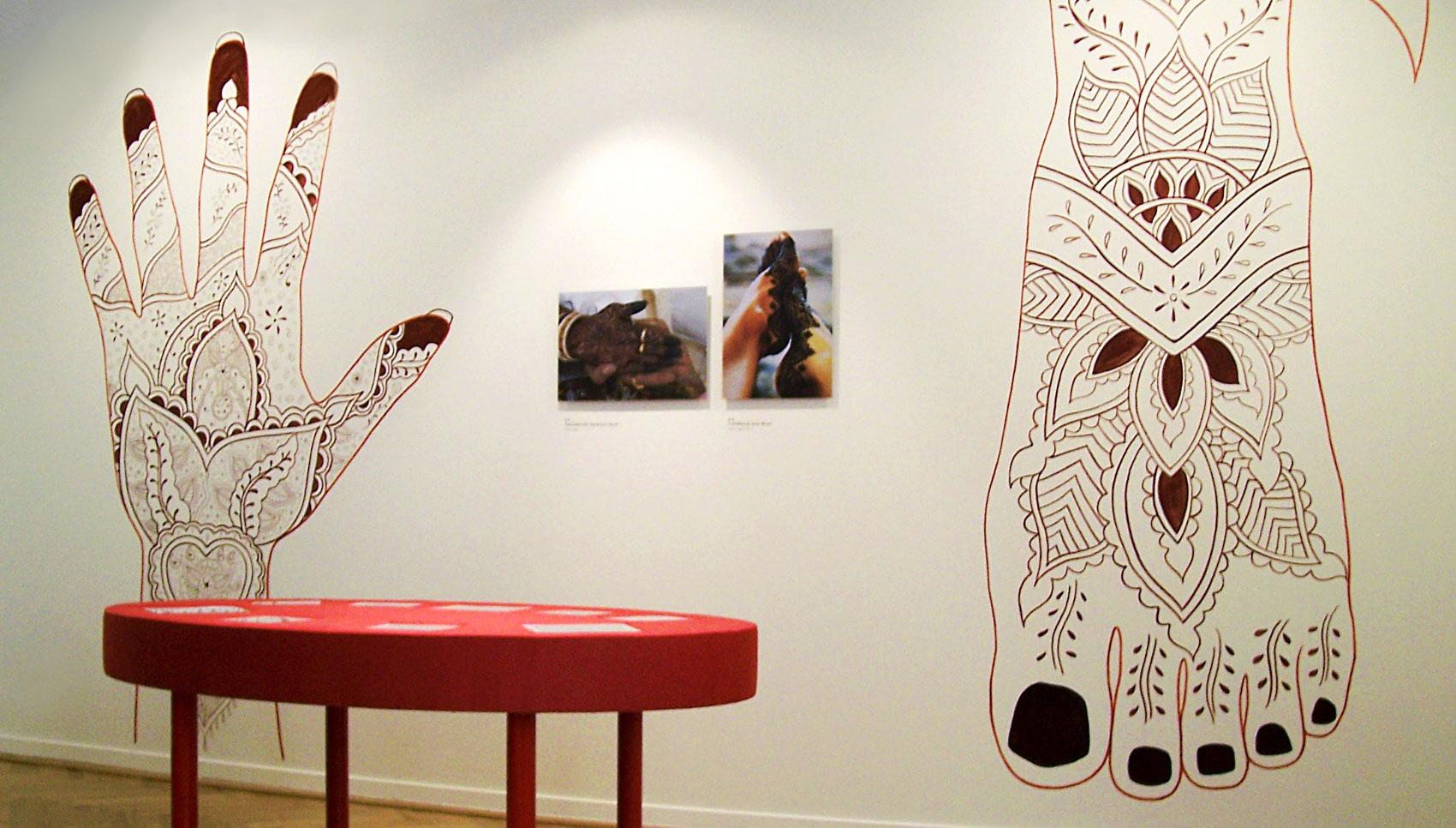 Hautzeichen Körperbilder Museum der Weltkulturen Frankfurt
