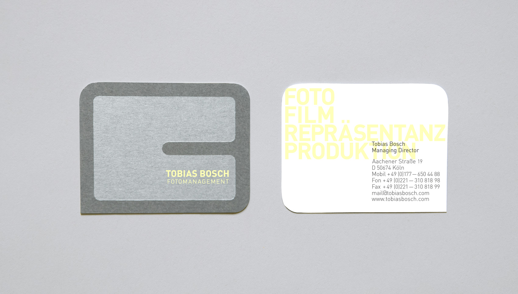 Tobias Bosch. Corporate Design.