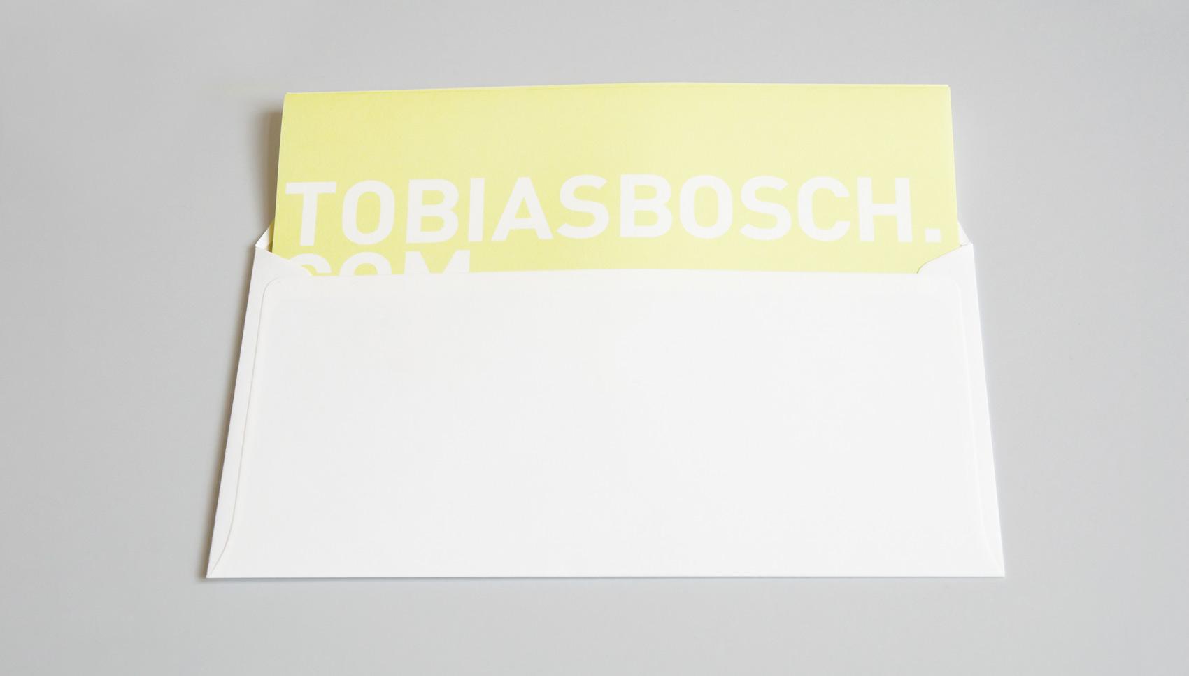 Tobias Bosch. Corporate Design.
