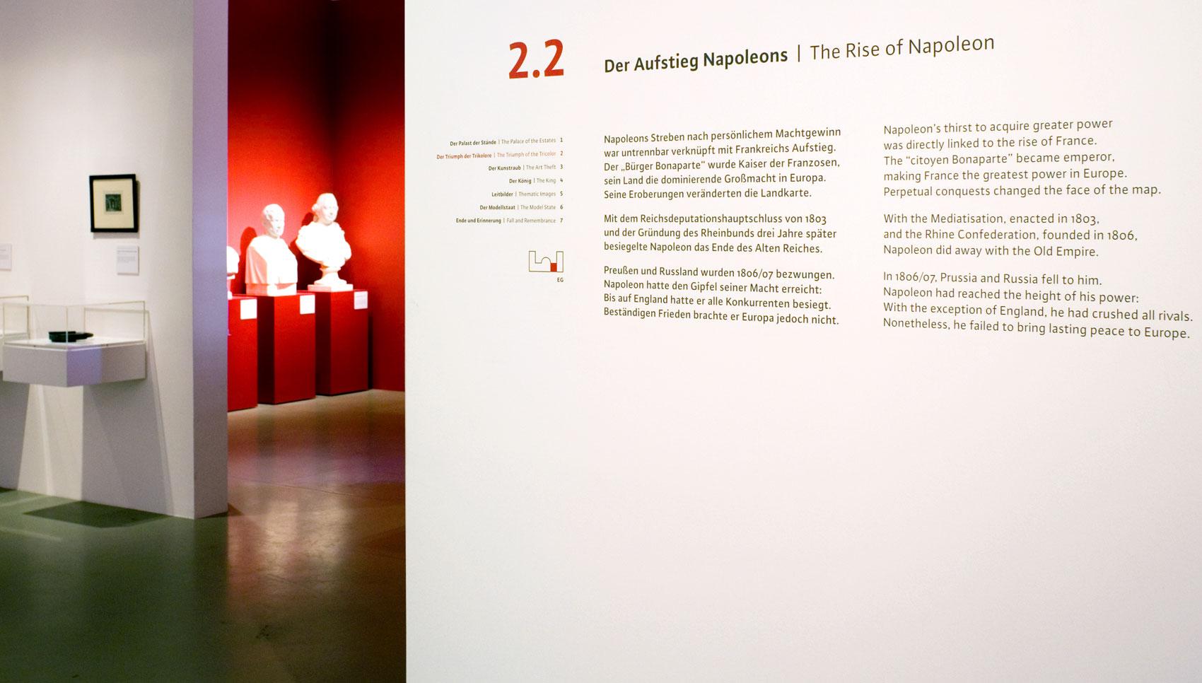 König Lustig Ausstellungsdesign Fridericianum in Kassel