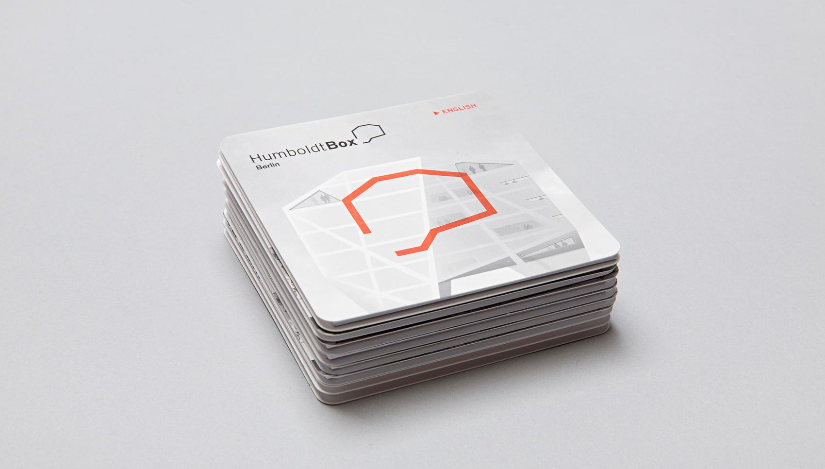 Humboldt-Box Z-Card Gestaltung