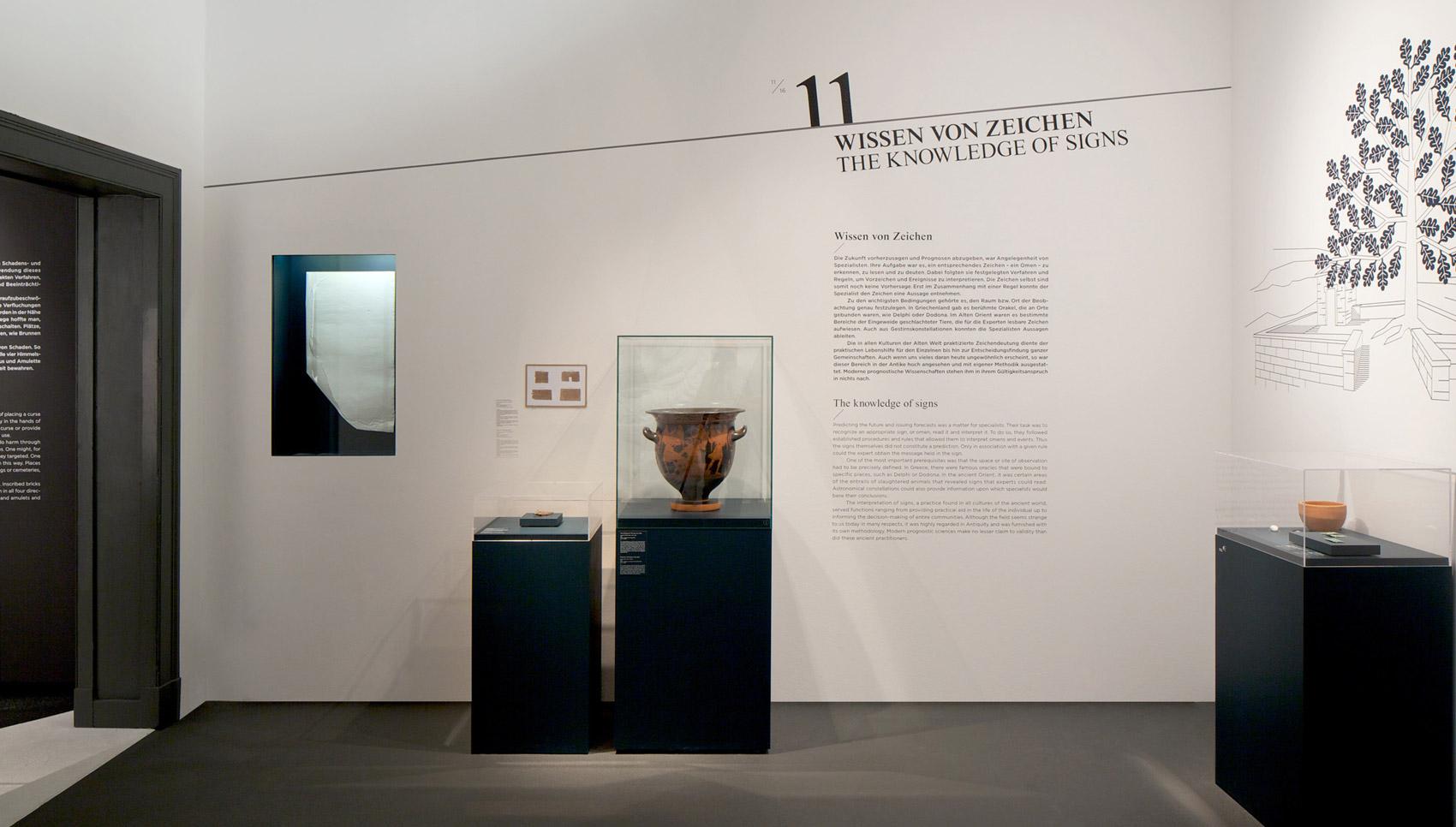 Jenseits des Horizonts Ausstellungsdesign Pergamonmuseum Berlin