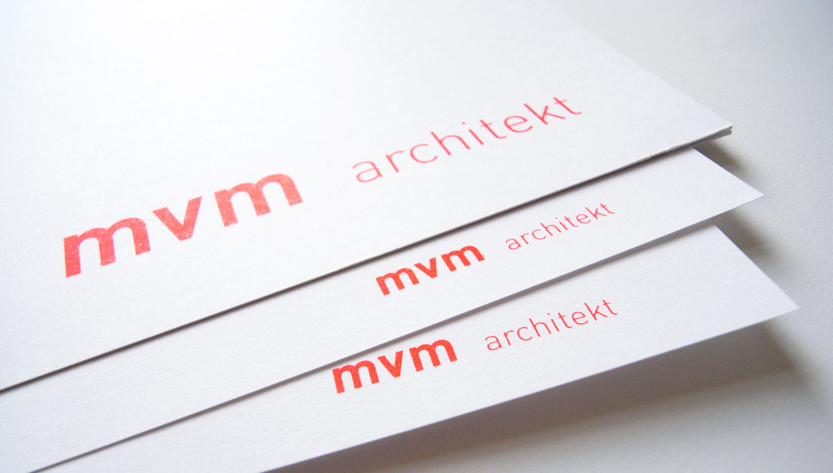 mvm Architekt Michael Viktor Müller Corporate Design