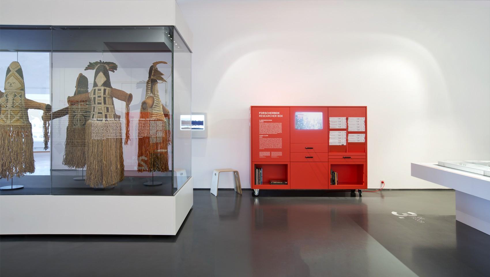 Ausstellungsdesign Humboldt-Box